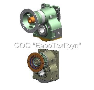 Планетарные цилиндрические редукторы Posiplan-Brevini Серия PH218 передаточное число 15,52.