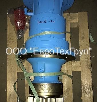 Редуктор привода поворота башенных кранов КБ403/405.